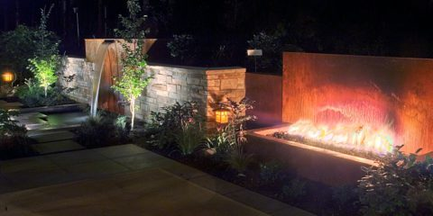 Landscape lighting will make your yard more enjoyable throughout the year. In Harmony Sustainable Landscapes