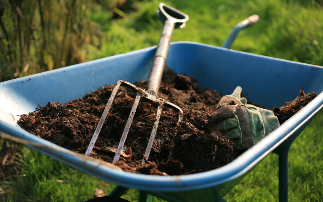 Mulch now for fewer weeds this year