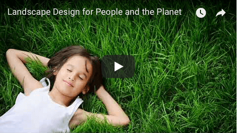 Landscape design for people and the planet