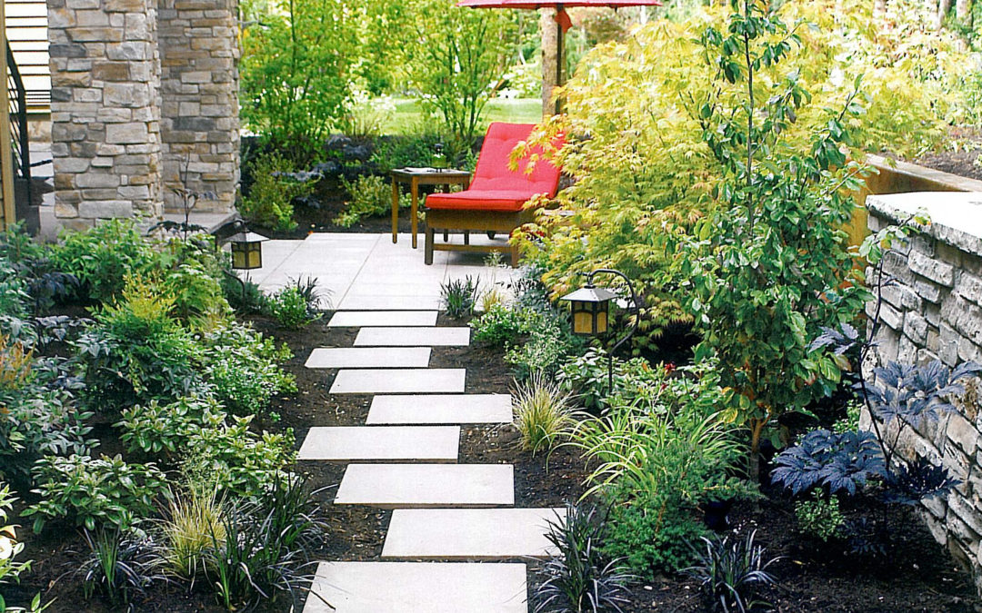 Add a quiet space to your garden