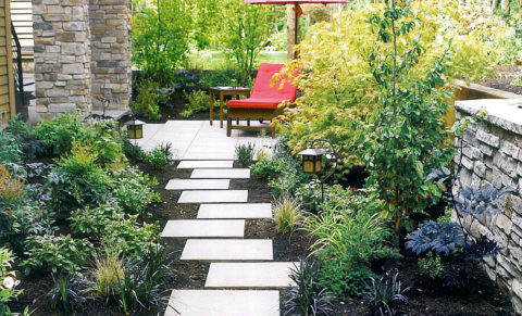 A quiet space in the garden can be a refuge from our busy lives. In Harmony Sustainable Landscapes