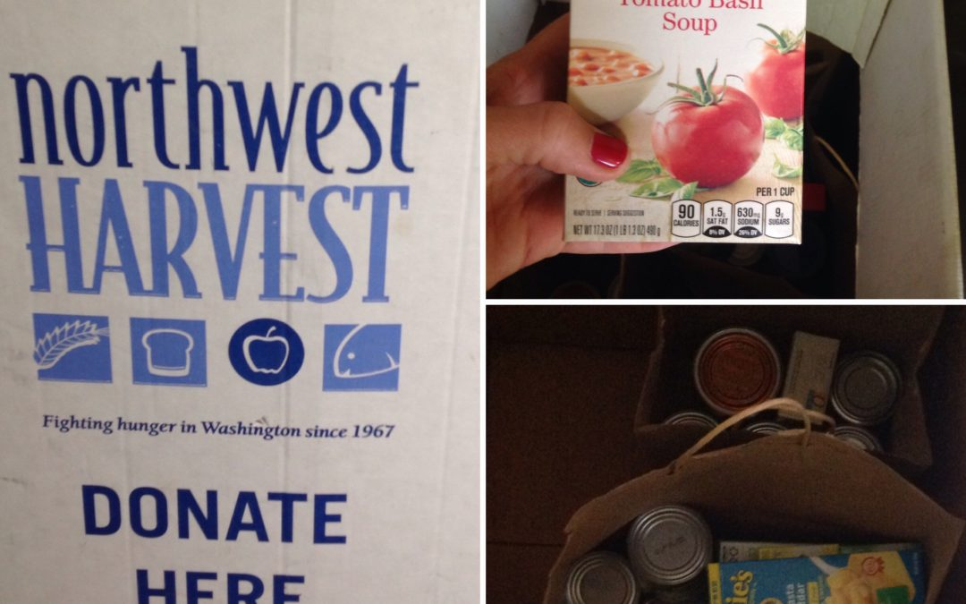 Donate to our Northwest Harvest food drive