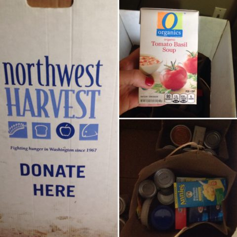 Join our Northwest Harvest food drive and help end hunger in Washington. In Harmony Sustainable Landscapes