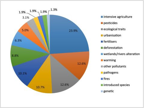 Main factors associated with insect declines. In Harmony Sustainable Landscapes